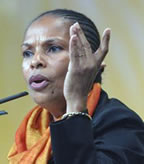 Photo CHRISTIANE TAUBIRA - Laroussi OUESLATI